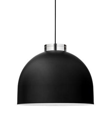 Suspension Luceo Ronde / Large Ø 45 cm - Métal & verre - AYTM noir en métal