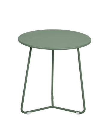 Mobilier - Tables basses - Table d'appoint Cocotte / Tabouret - Ø 34 x H 36 cm - Fermob - Cactus - Acier peint