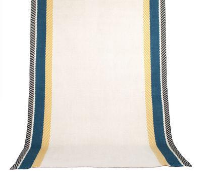 Déco - Tapis - Tapis Bande à part / 200 x 300 cm - Maison Sarah Lavoine - Bleu Sarah - Coton, Laine