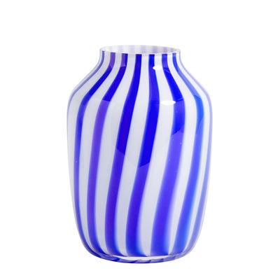 Interni - Vasi - Vaso Juice - / Alto - Ø 20 x H 28 cm di Hay - Blu - Vetro