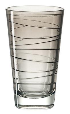 Arts de la table - Verres  - Verre long drink Vario / H 12,6 cm - Leonardo - Gris - Verre
