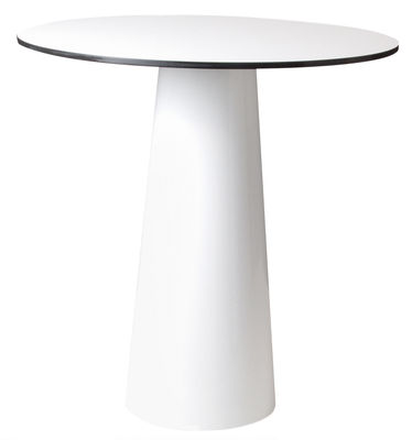 Outdoor - Garden Tables - Table accessory - Ø 70 cm by Moooi - White top - Ø 70 cm - HPL