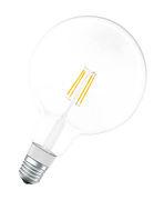 Ampoule LED E27 connectée / Smart+ - Filaments Globe - 5,5W=50W - Ledvance transparent en verre