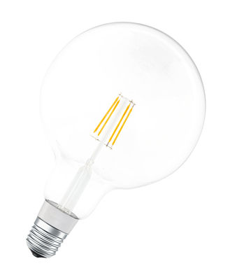 Ampoule LED E27 connectée / Smart+ - Filaments Globe - 5,5W=50W - Ledvance transparent en verre