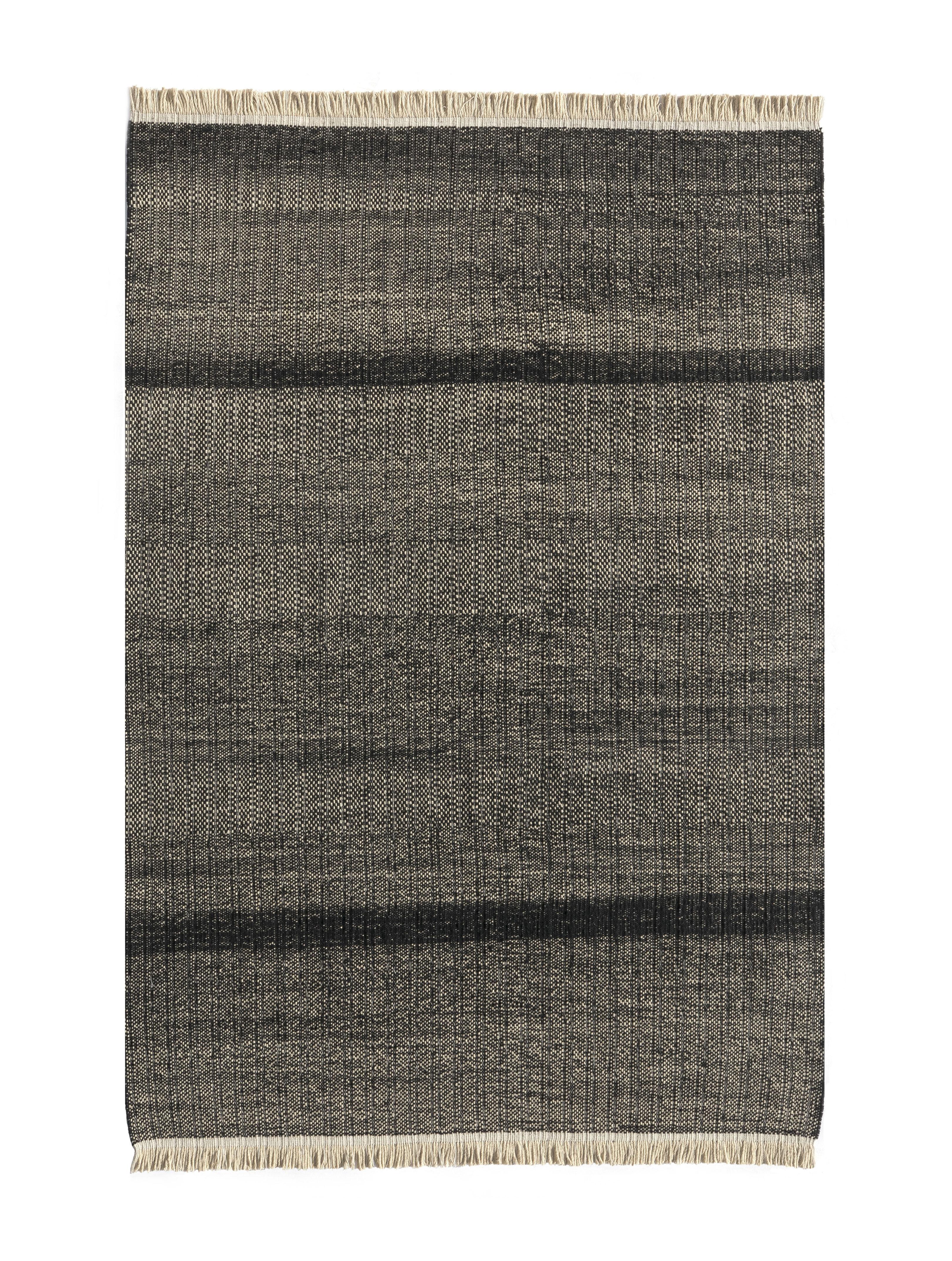 Dekoration - Teppiche - Tres Außenteppich / 170 x 240 cm - Nanimarquina - Schwarz - Polyäthylen