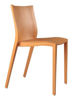 Furniture - Chairs - Slick Slick Chair by XO - Orange - Polypropylene