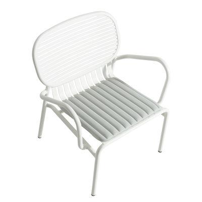 Arredamento - Poltrone design  - Cuscino per seduta Week-End - / Large - 48 x 42 cm - di Petite Friture - Grigio Perla - Poliestere