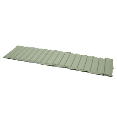 Decoration - Cushions & Poufs - Cushion - / For Bistro lounge chair - L 171 cm by Fermob - Almond green - Cloth, Foam