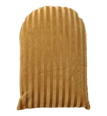 Decoration - Cushions & Poufs - Arcus Cushion - / 60 x 40 cm - Velvet by AYTM - Amber - Foam, Velvet