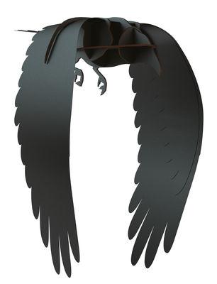 Décoration Karl / A suspendre - L 53 x H 54 cm - Ibride noir en bois