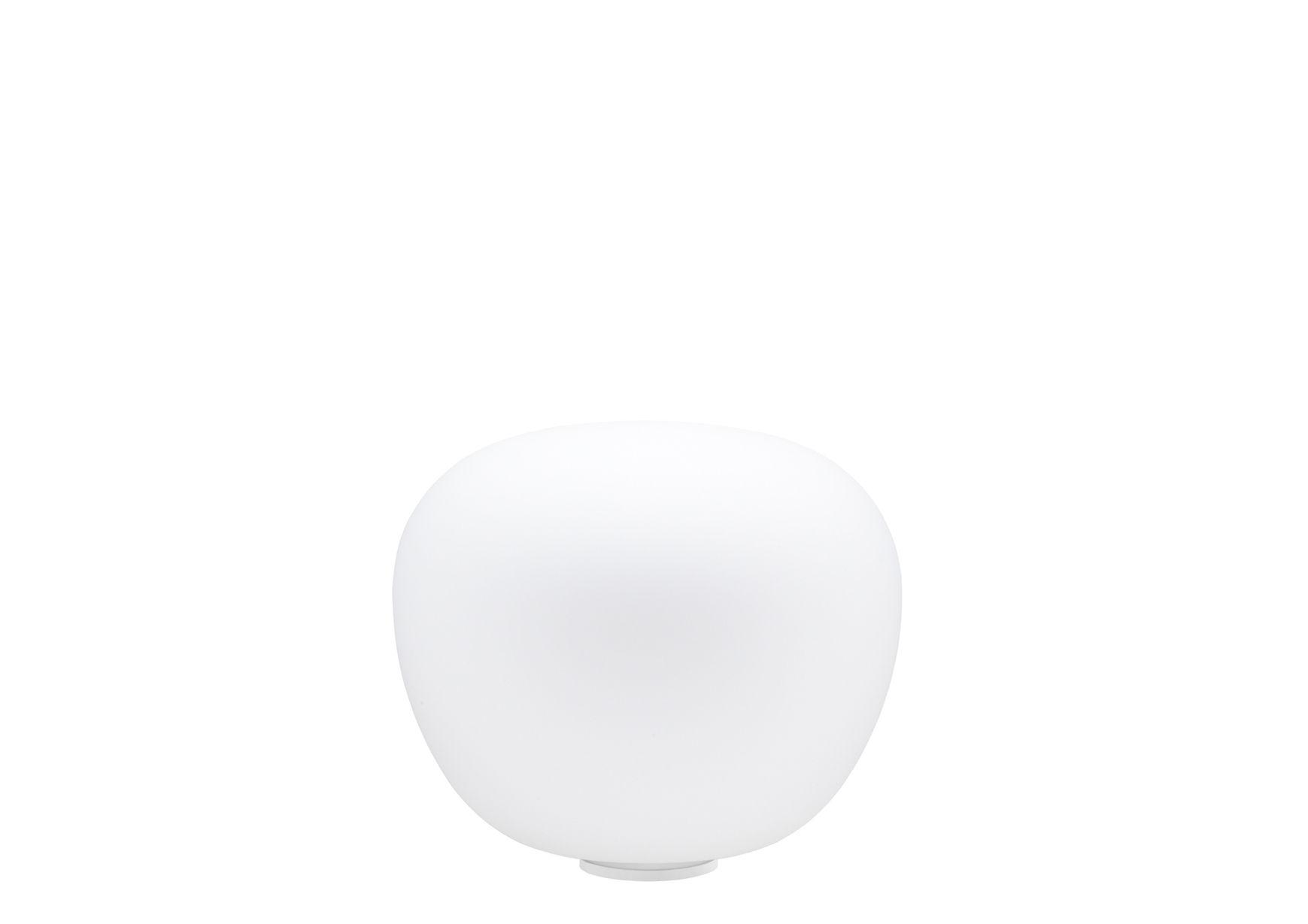 Luminaire - Lampes de table - Lampe de table Mochi Ø 12 cm - Fabbian - Blanc - Ø 12 cm - Verre