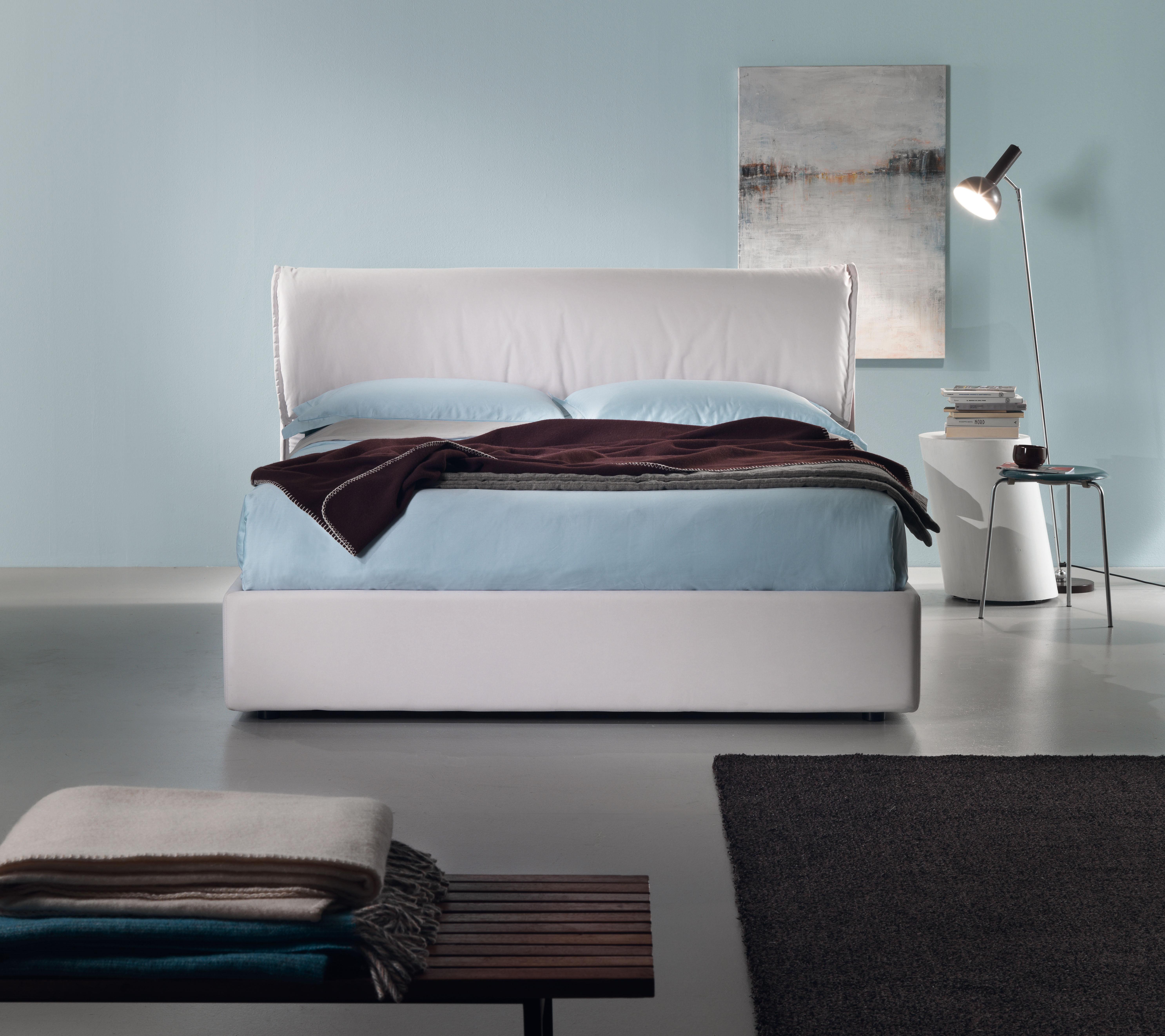 lit double hollis 216 x 180 cm beige dorelan. Black Bedroom Furniture Sets. Home Design Ideas