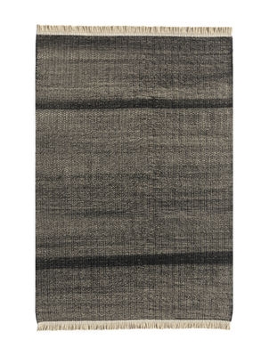 Decoration - Rugs - Tres Outdoor rug - / 170 x 240 cm by Nanimarquina - Black - Polythene