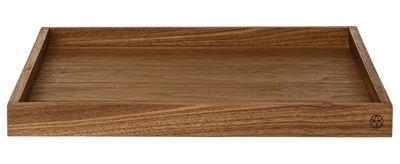 Tavola - Vassoi  - Vassoio Unity / 35 x 35 cm - AYTM - Noce - Noce massello