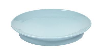 Tableware - Plates - San Pellegrino Plate - / Ø 24 cm by Serax - Blue - China