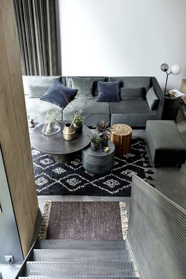 Rug Marlie By House Doctor Black Made In Design Uk