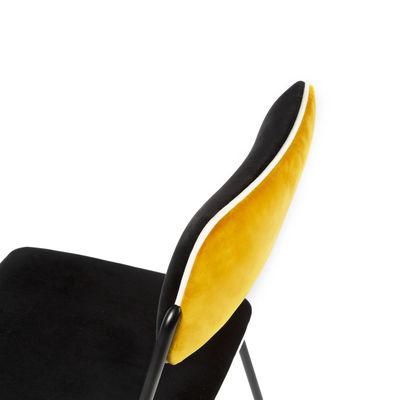 Sedia Imbottita Double Jeu Di Maison Sarah Lavoine Giallo Nero Made In Design