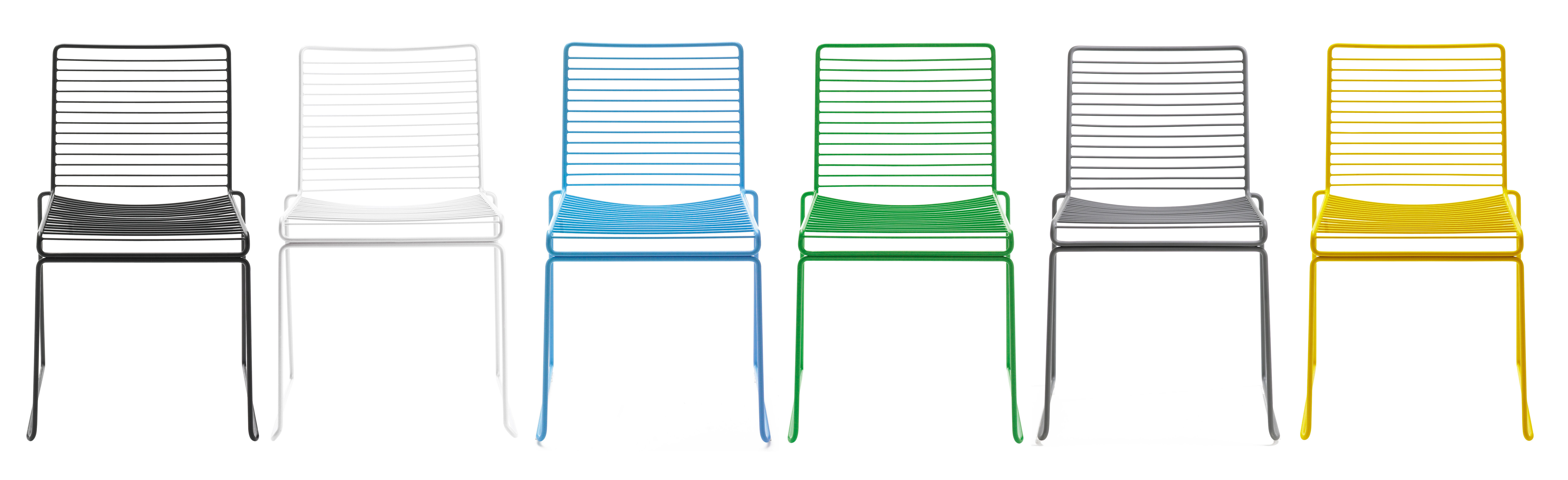Stacking Chair Hee By Hay White Made In Design Uk