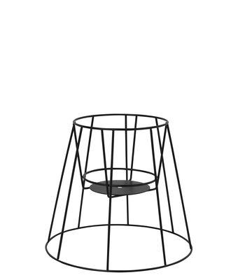 Jardin - Pots et plantes - Support pour pot de fleurs Cibele Small / H 30 cm - OK Design pour Sentou Edition - Noir - Métal
