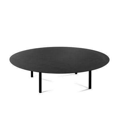 Table basse 03 Large / Ø 118 x H 30 cm - Acier - Serax noir en métal