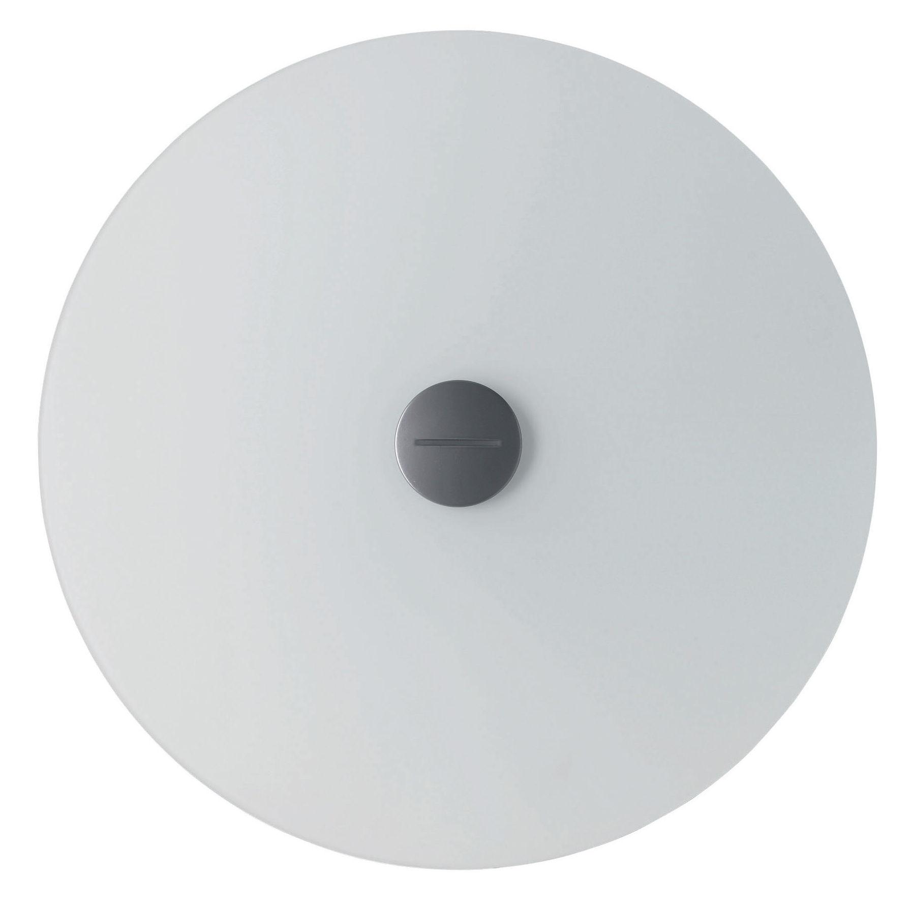 Lighting - Wall Lights - Bit 3 Wall light with plug by Foscarini - White - Glass, Metal