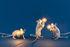 Ampoule LED E12 / 1W - 90 lumen / Pour lampes Mouse - Seletti