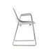 Mammamia Sled Armchair - / Metal - Sled base by Opinion Ciatti