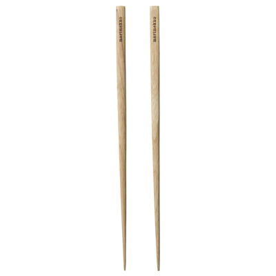 Arts de la table - Couverts de table - Baguettes chinoises / 2 paires - Marimekko - Baguettes / Bois - Bois d'hévéa