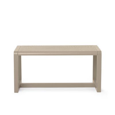 Banc enfant Little Architect / Bois - L 62 cm - Ferm Living beige en bois