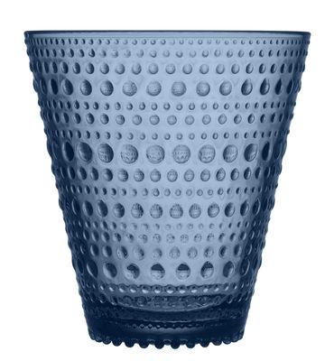 Image of Bicchiere Kastehelmi / Set da 2 bicchieri - 30 cl - Iittala - Grigio - Vetro