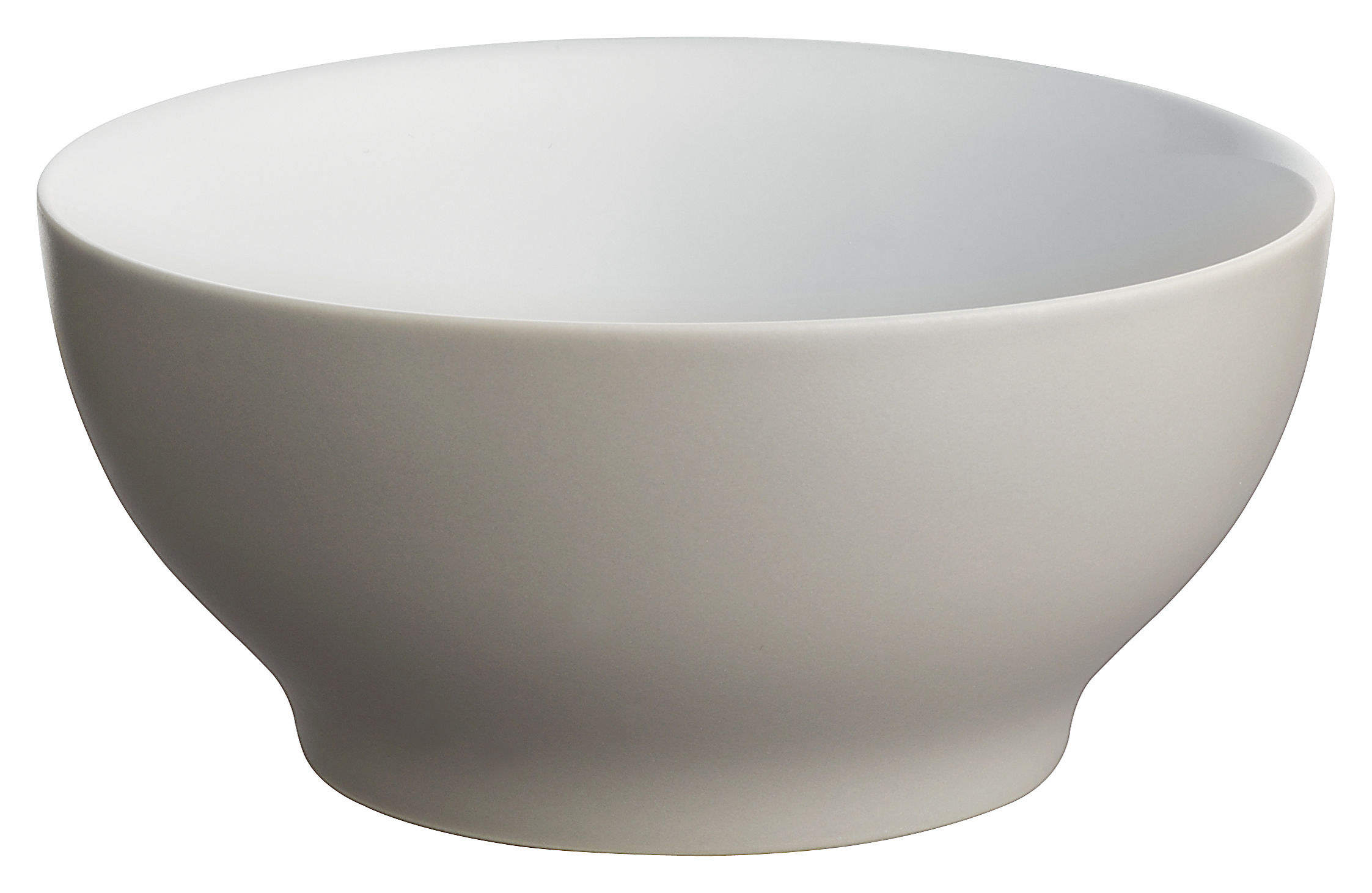 Tableware - Bowls - Tonale Bowl - Small bowl by Alessi - Light grey - Stoneware ceramic