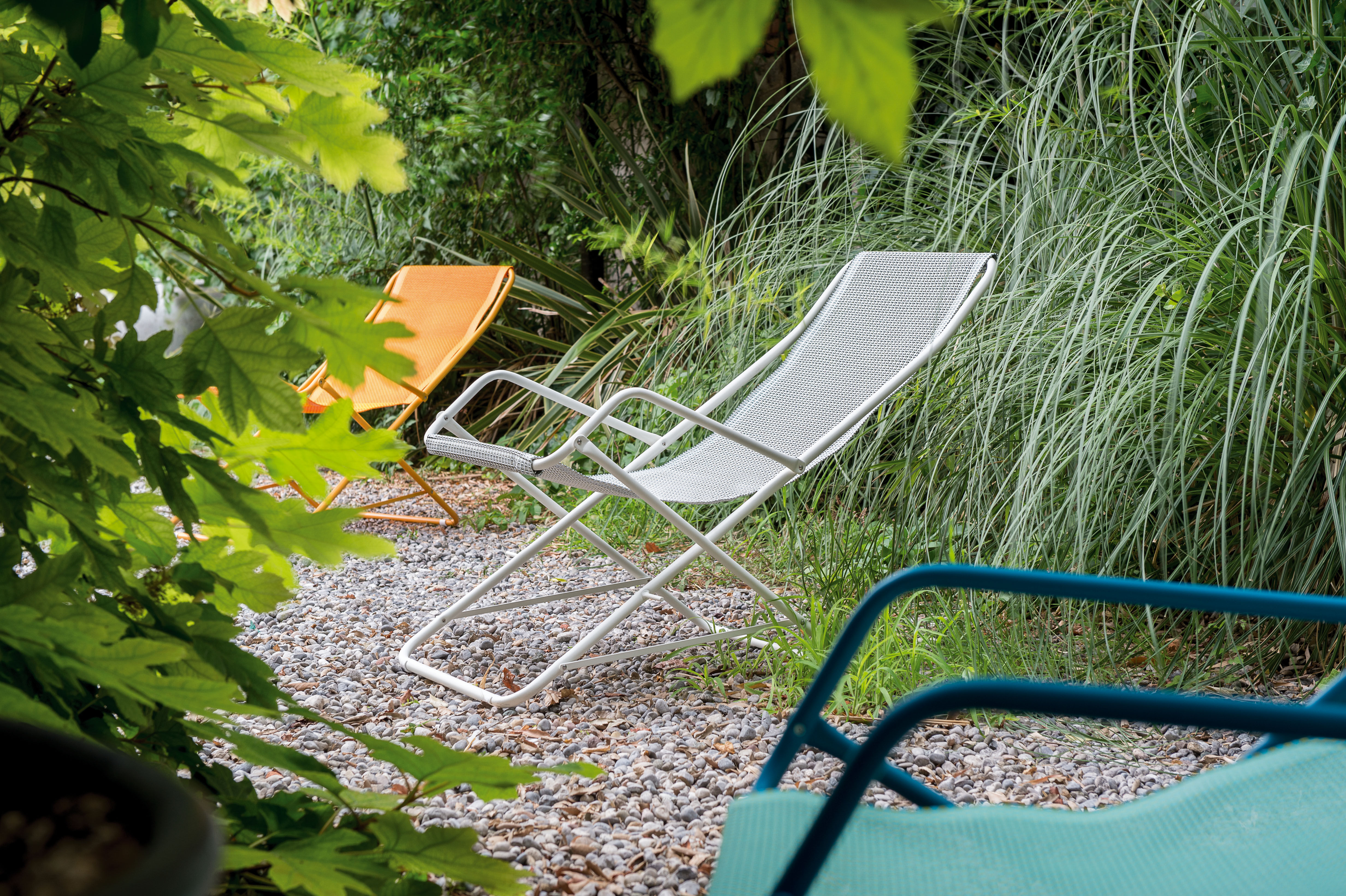 Emu Sdraio Bahama Prezzo.Chaise Longue Bahama Emu Tela Rosso Struttura Rosso L 58 X H