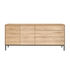 Whitebird Dresser - / Solid oak L 180 cm / 2 door & 3 drawers by Ethnicraft