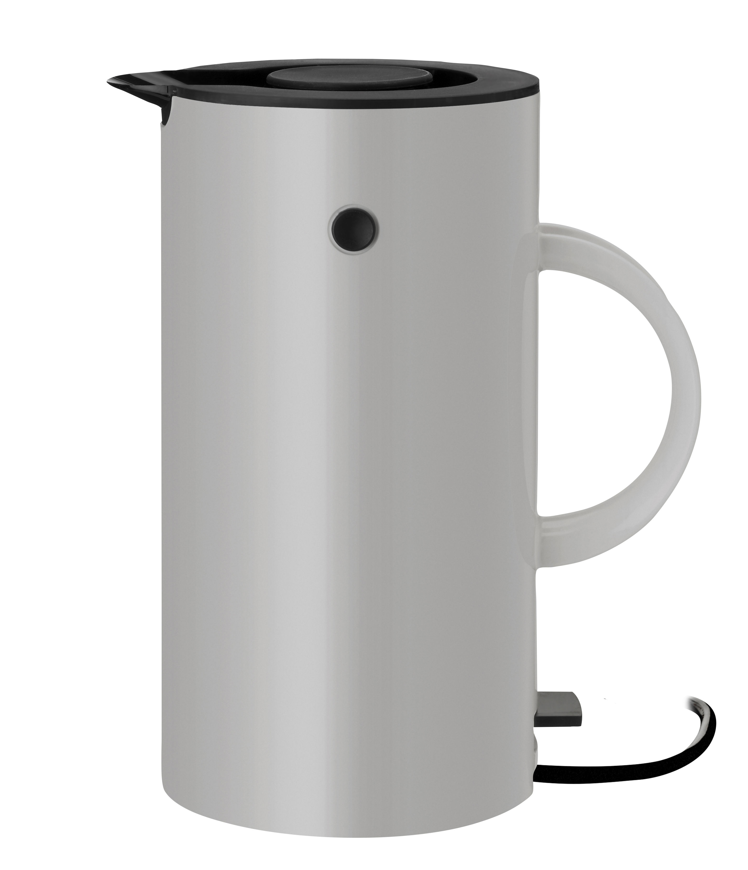 Kitchenware - Kettles & Teapots - EM77 Electric kettle - / 1.5 L by Stelton - Light grey - ABS plastic