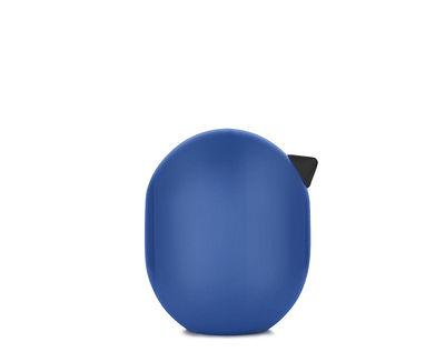 Figurine Little Bird / H 4,5 x Ø 3,5 cm - Normann Copenhagen bleu encre en bois