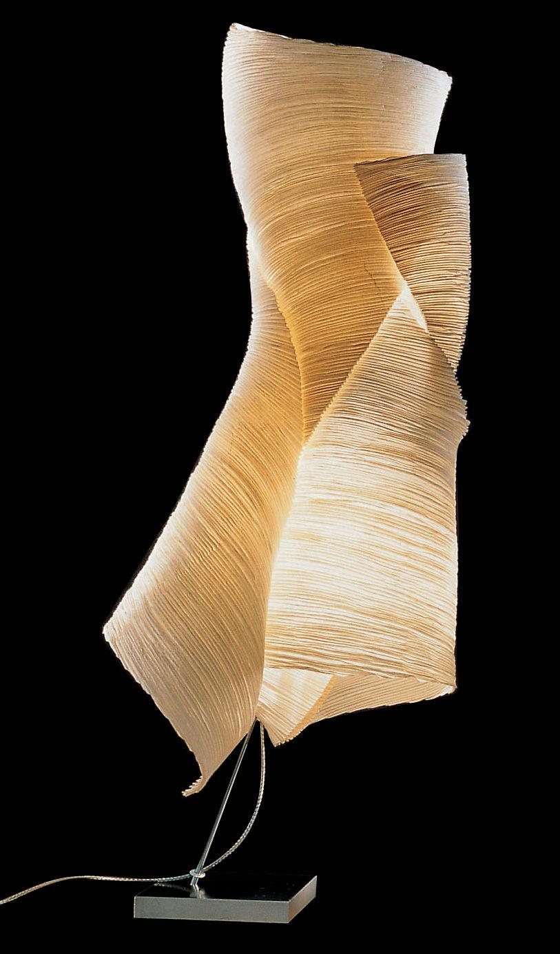 lampe de sol the mamo nouchies ysmen papier nature ingo maurer made in design. Black Bedroom Furniture Sets. Home Design Ideas