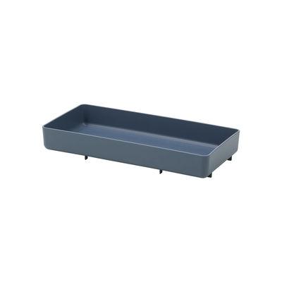 Image of Piano/vassoio Chap Tray RE - / 41,5 x 20 cm - Poliammide Riciclato di Vitra - Blu - Materiale plastico