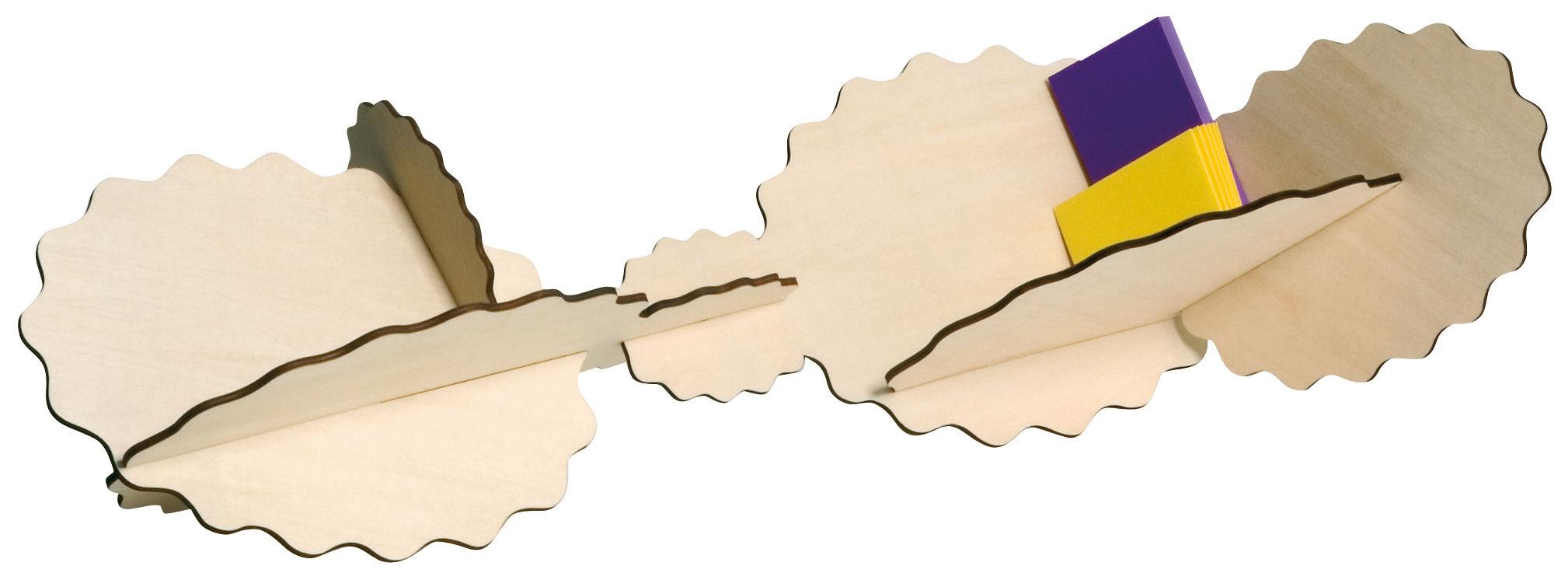 Möbel - Regale und Bücherregale - Astéroïde Regal zum Aufstellen - Bausatz - Domestic - Holz - Vielschicht-Sperrholz in Birke
