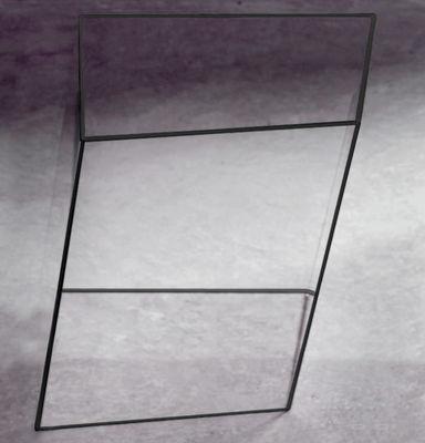 Table basse Wireframe 40 x 38 cm - Glas Italia noir/transparent en verre