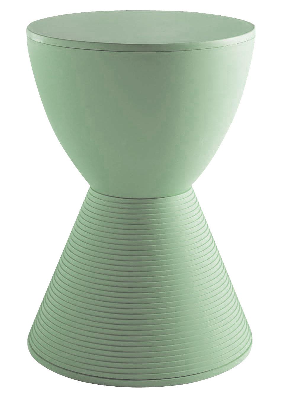 Mobilier - Tabourets bas - Tabouret Prince AHA / Plastique - Kartell - Vert fenouil - Polypropylène