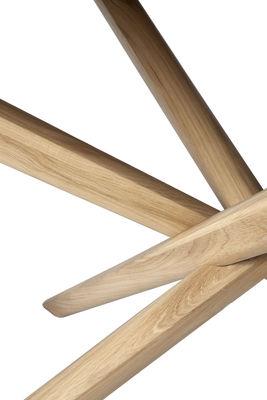 Tavolo Rotondo Mikado Di Ethnicraft Legno Naturale Made In Design