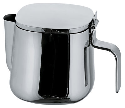 Tableware - Tea & Coffee Accessories - 401 Teapot by A di Alessi - 6 cups - Stainless steel