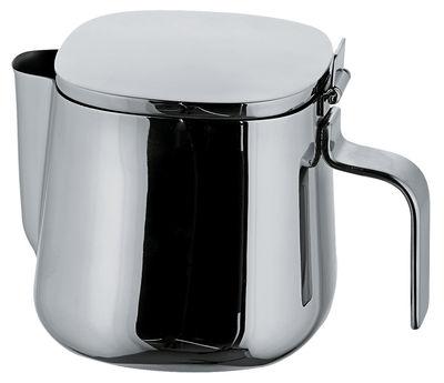 Tavola - Caffè - Teiera 401 di A di Alessi - 6 tazze - Acciaio inossidabile