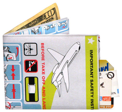 Accessories - Bags, Purses & Luggage - Mighty In Flight Wallet by Pa Design - In flight design - Tyvek