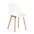 Chaise Neu 12 / Plastique & bois avec jonction alu - Hay
