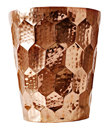 Decoration - Vases - Hex Champagne bucket by Tom Dixon - Copper - Hammered brass