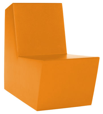 Furniture - Kids Furniture - Minus Primary Solo Children armchair by Quinze & Milan - Orange - Polyurethane foam