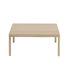 Workshop Coffee table - / Oak - 86 x 86 cm by Muuto