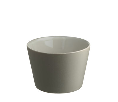 Tableware - Coffee Mugs & Tea Cups - Tonale Cup - / 25 cl by Alessi - Light grey - Stoneware ceramic