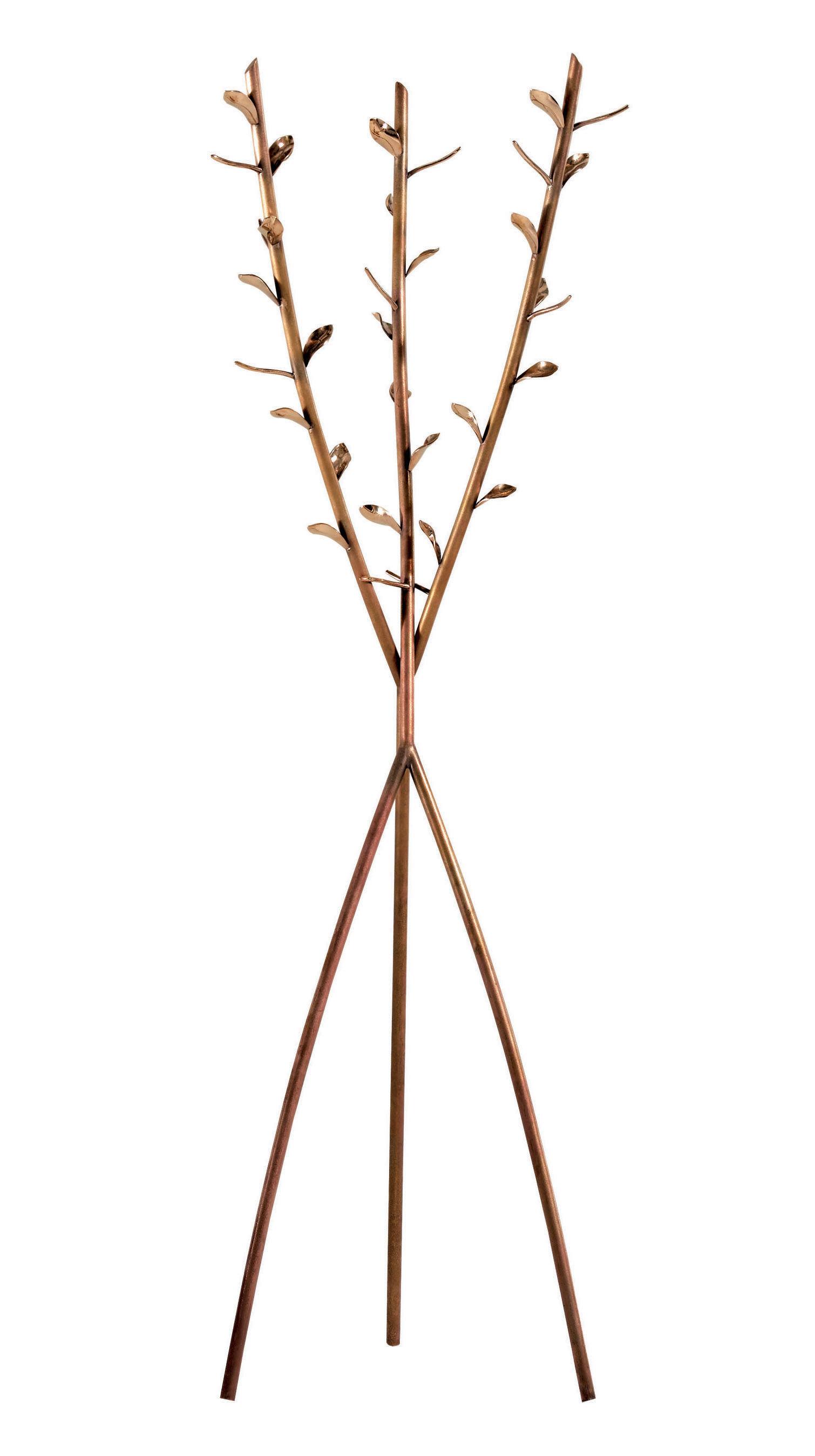 Möbel - Außergewöhnliche Möbel - Acate Garderobe - Driade - Messing - Messing
